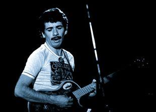 Carlos Santana in concert 1973