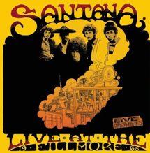 santana live album art