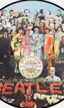 Beatles psychedelic picture disc