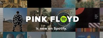 Spotify promo for Pink Floyd