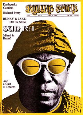 sun ra on cover of rolling stone