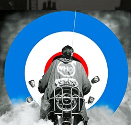 US tour of Quadrophenia logo - the Who rock opera
