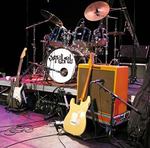 Yardbirds stage
